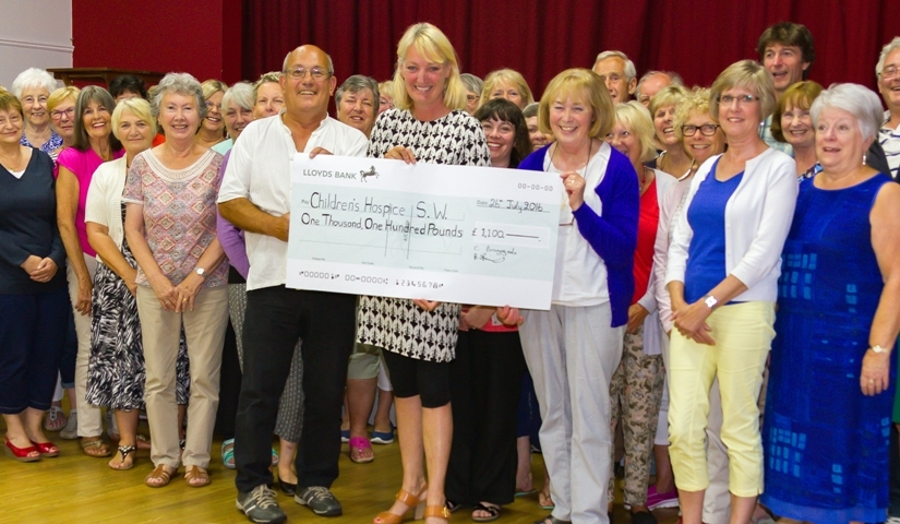 Concert raises £1,100 for Children's Hospice Southwest