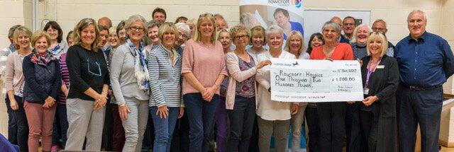 Charity Concert raises funds forRowcroft